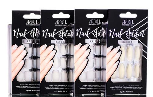 Ardell Nail Addict Natural Artificial Nail Set