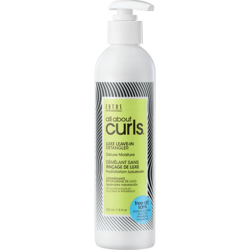 Zotos All About Curls Deluxe Moisture Luxe Leave-In Detangler