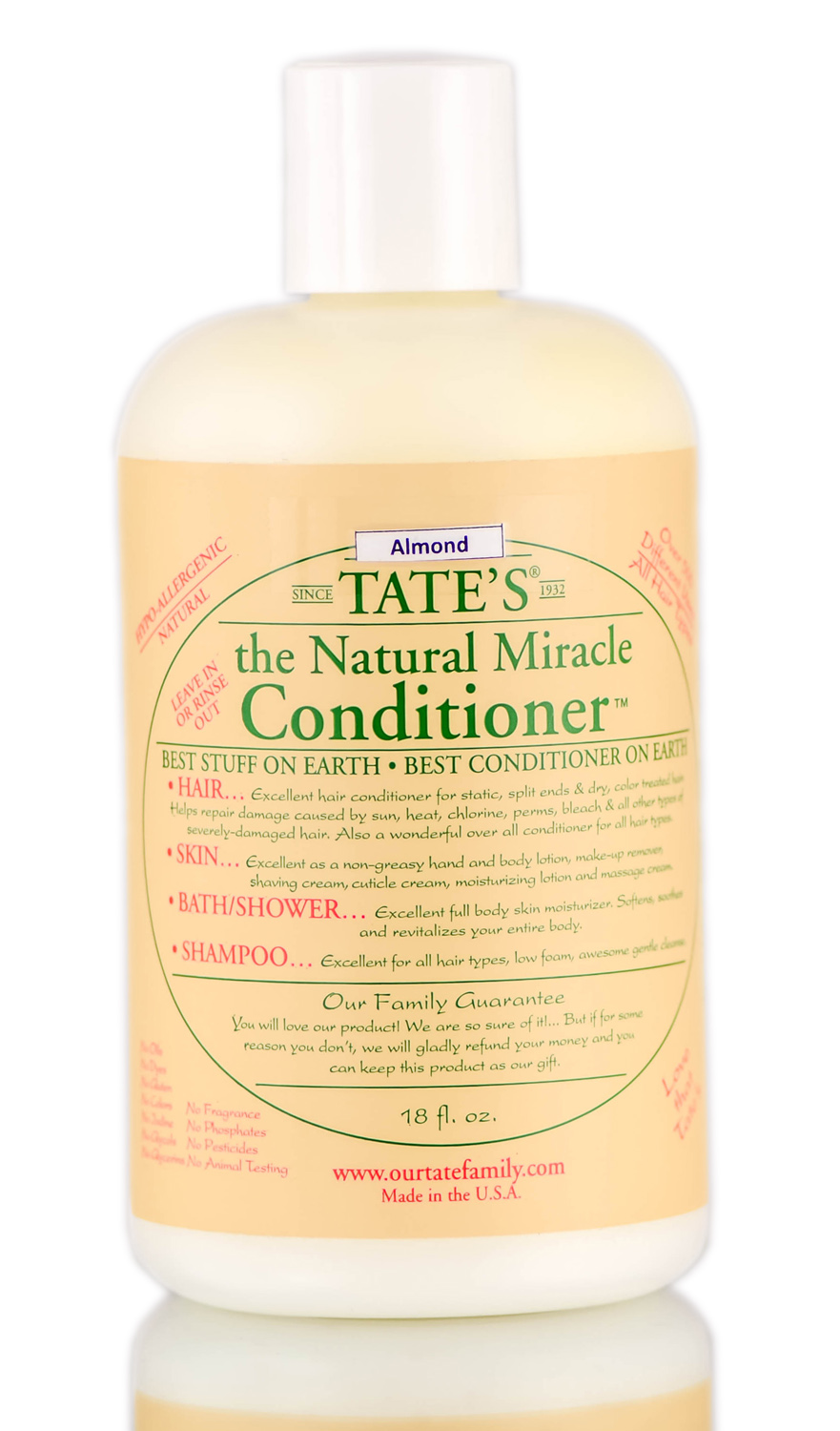 Tate's The Natural Miracle Almond Conditioner