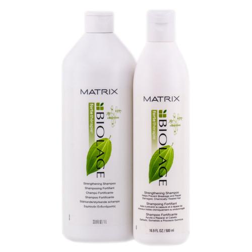 Matrix Biolage Fortetherapie Strengthening Shampoo Sleekshop Com
