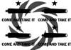 Come and Take it Stencils