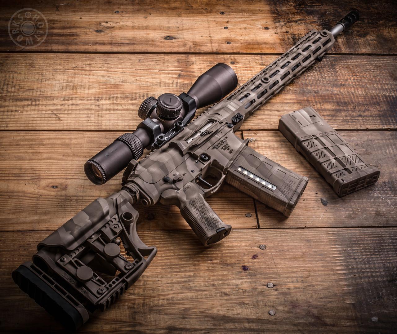 Camo Rifle Finish