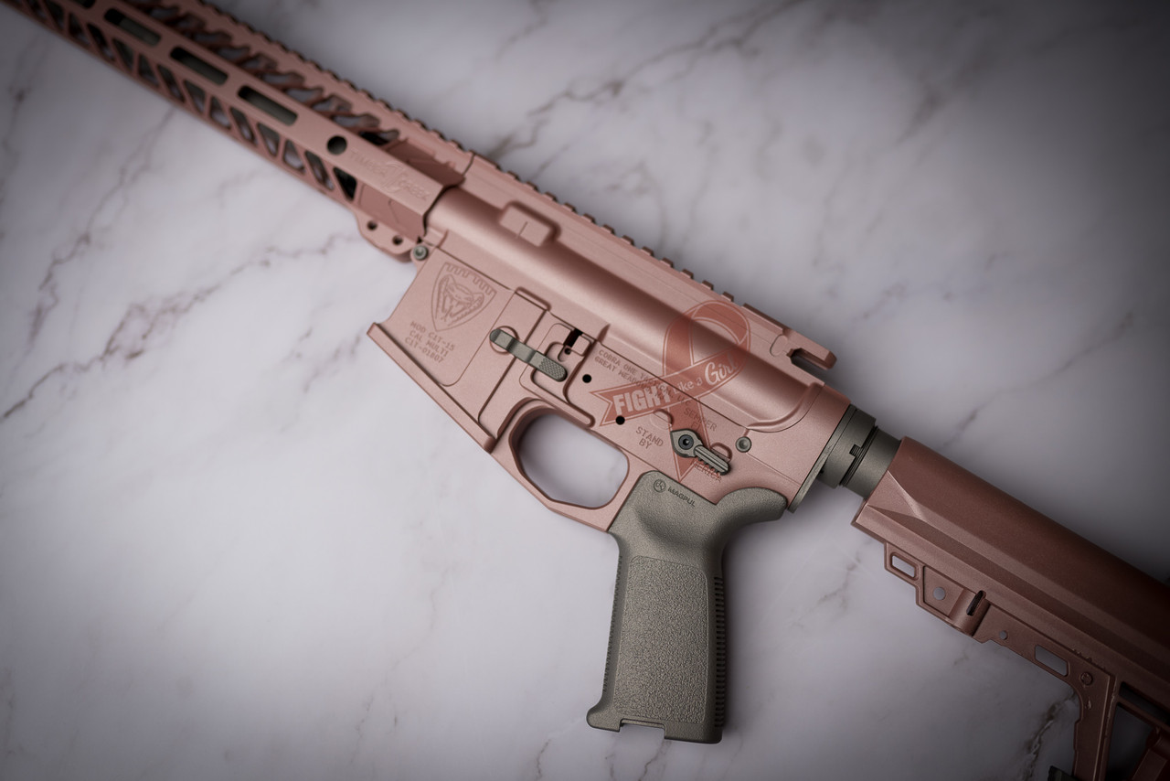 Single Color Long Gun Finish