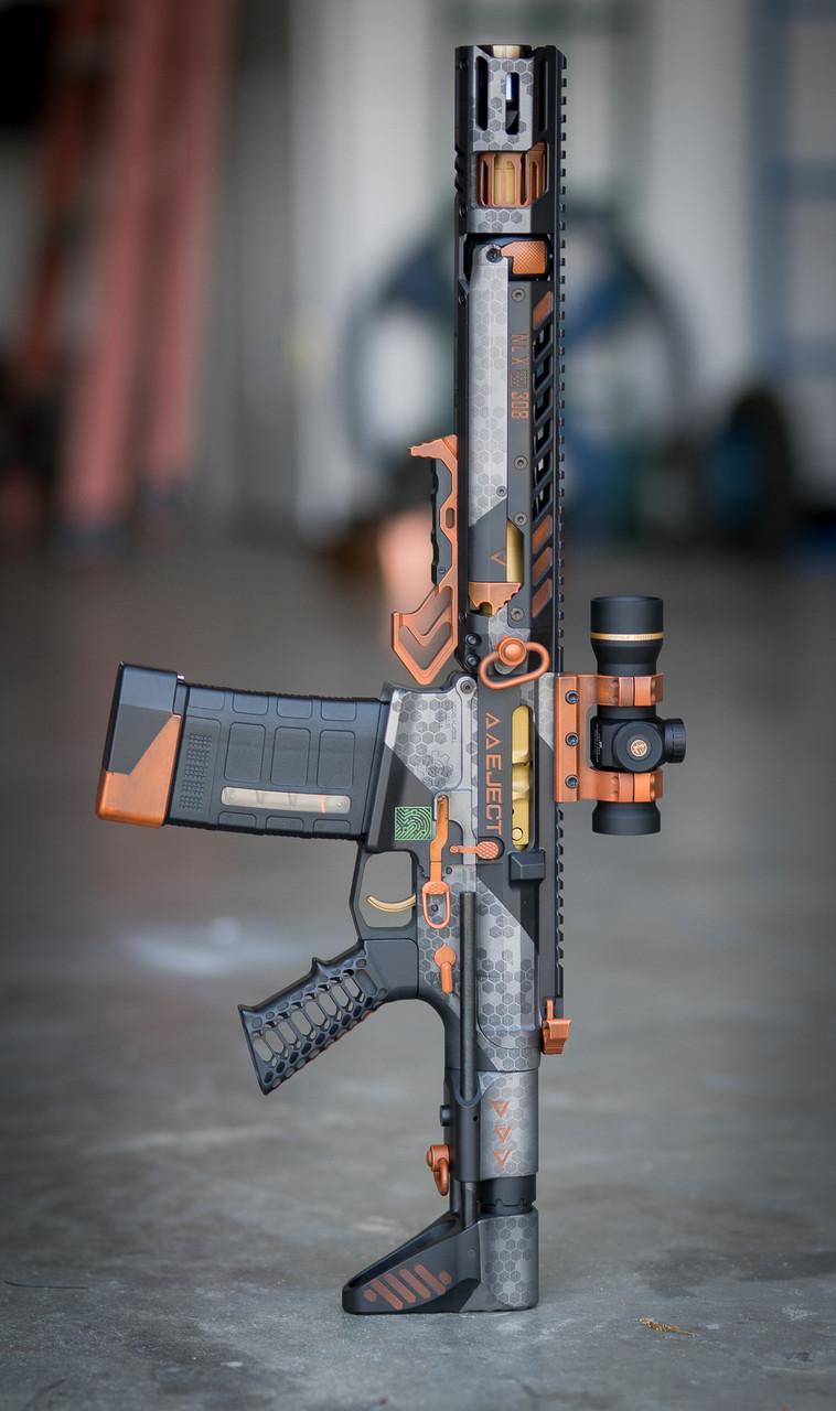 Themed Rifle Finish
