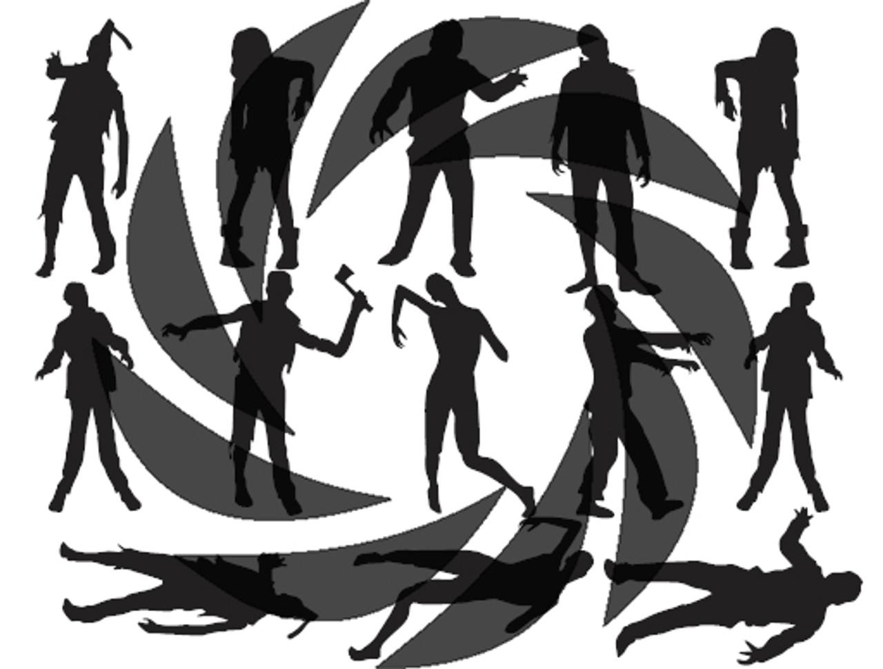 Zombie Stencils