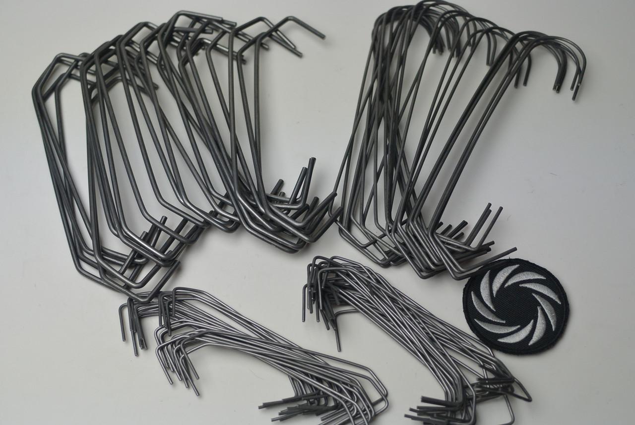 100 Piece Powder Coating Hook Kit