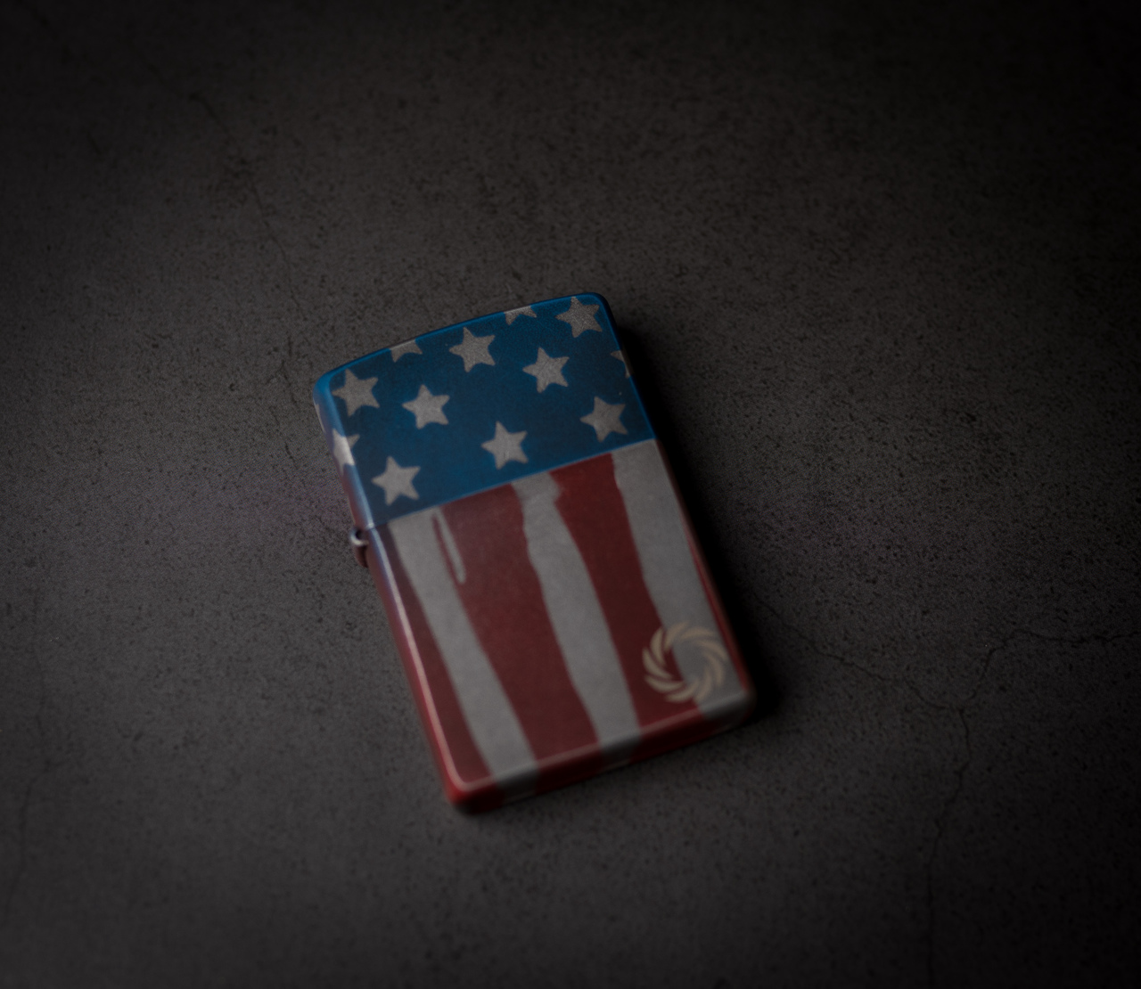 WWLLC American Flag Zippo