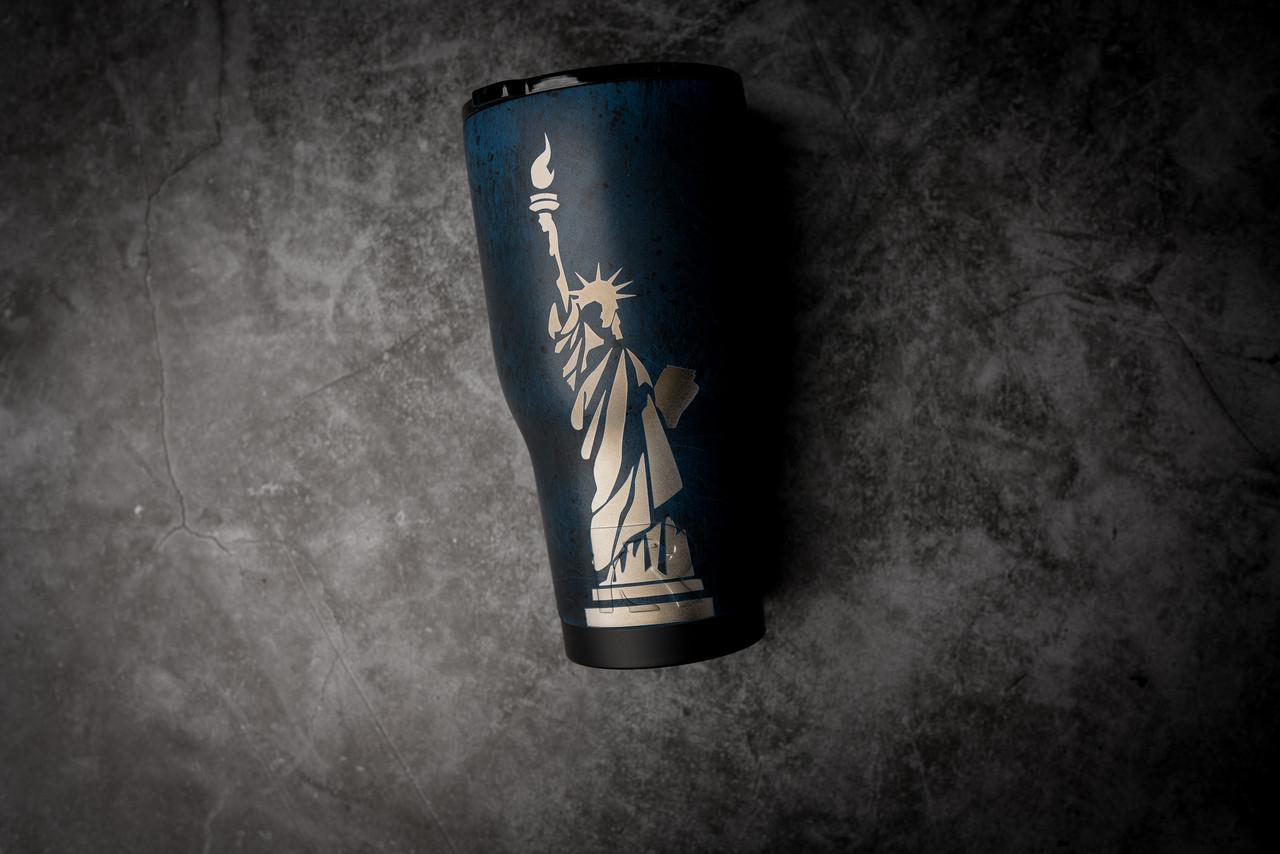 30oz  Statue of Liberty  Rtic Tumbler