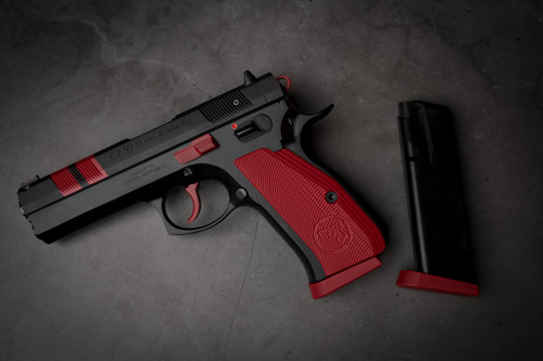 S&W Red and Black