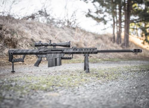 Camo Big Bore Rifle Finish