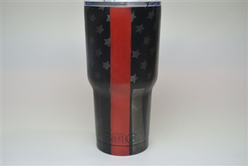 Single Color Tumbler Finish