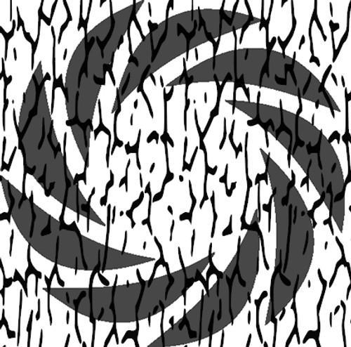 Treebark Camo Stencil Pack