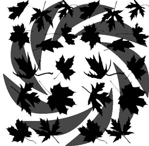 Leafy Camo Stencil Pack