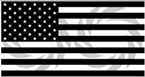 Straight Flag Rifle Stencil Pack