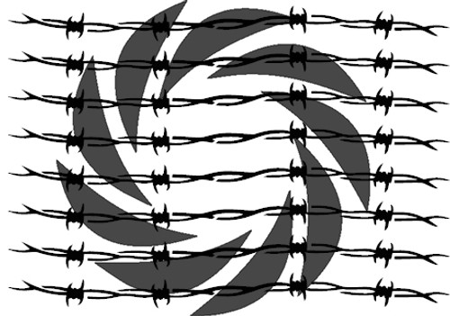 Barbed Wire Stencils