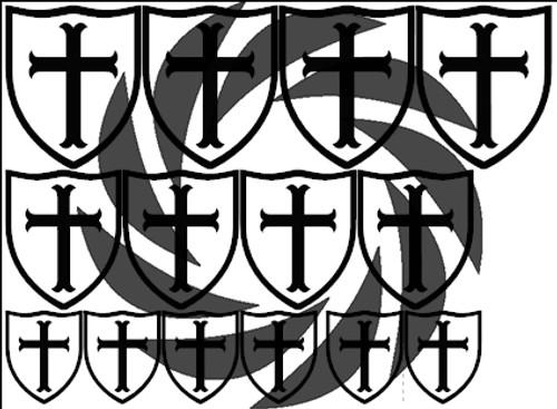 Crusader Stencils
