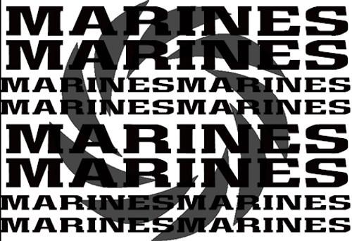 USMC Stencils