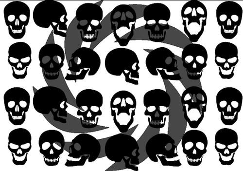 Skulls Stencils