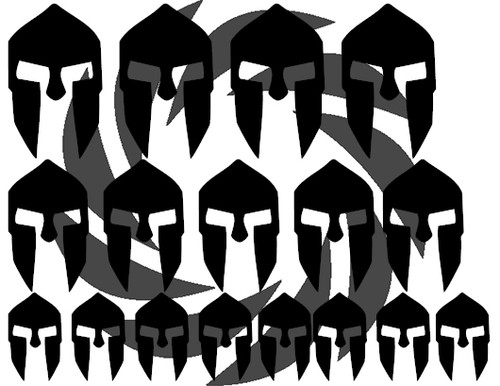 Spartan Front Stencils
