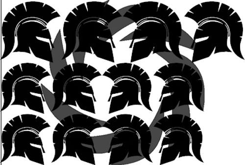 Spartan Side Stencils