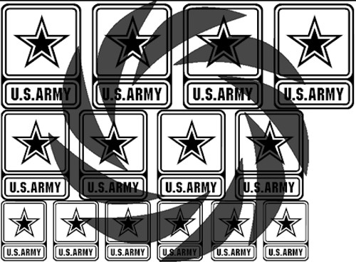 US Army Stencils