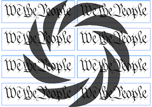 We the People Stencils