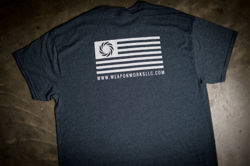 WWLLC Logo T Shirt in Charcoal