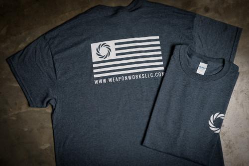WWLLC Logo T Shirt in Charcoal