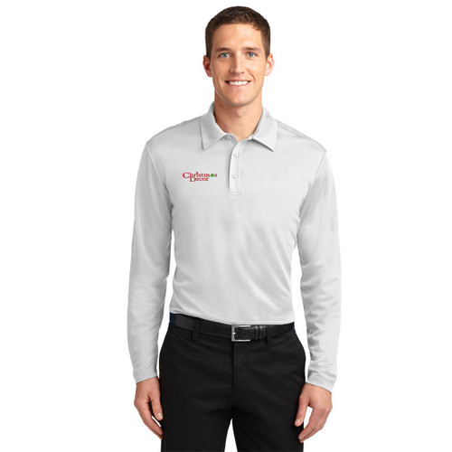 Port Authority® Silk Touch™ Performance Long Sleeve Polo