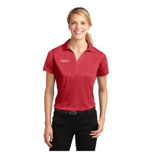 Sport-Tek® Ladies Heather Contender™ Polo