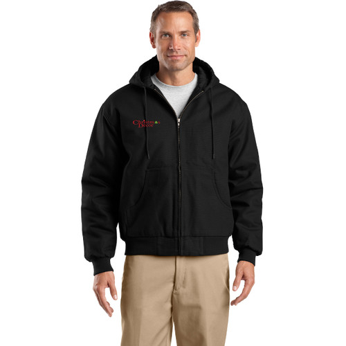 CornerStone® Tall Duck Cloth Hooded Work Jacket