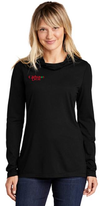 NEW - Sport-Tek ® Ladies PosiCharge ® Tri-Blend Wicking Long Sleeve Hoodie