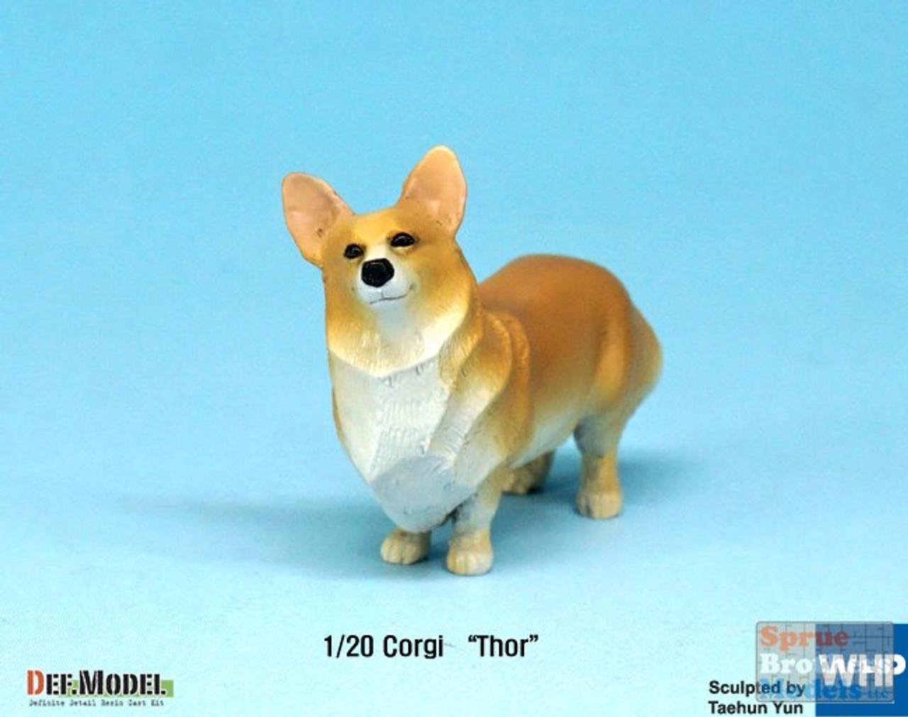 DEFDF20002 1:20 DEF Model Figure Set - Corgi 'Thor'