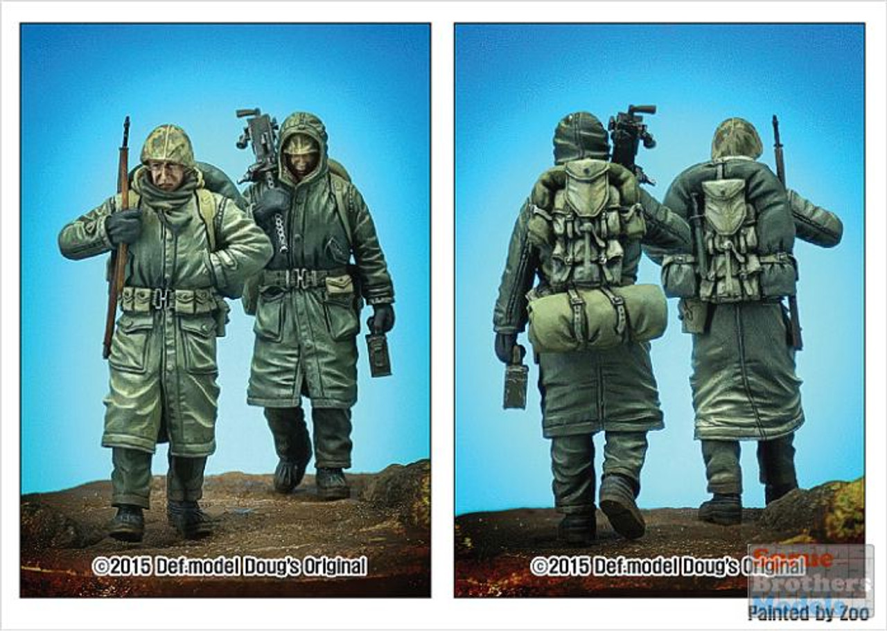 DEFDF35001 1:35 DEF Model Figure Set - US Marines Korea Winter 1950-51 Set #1
