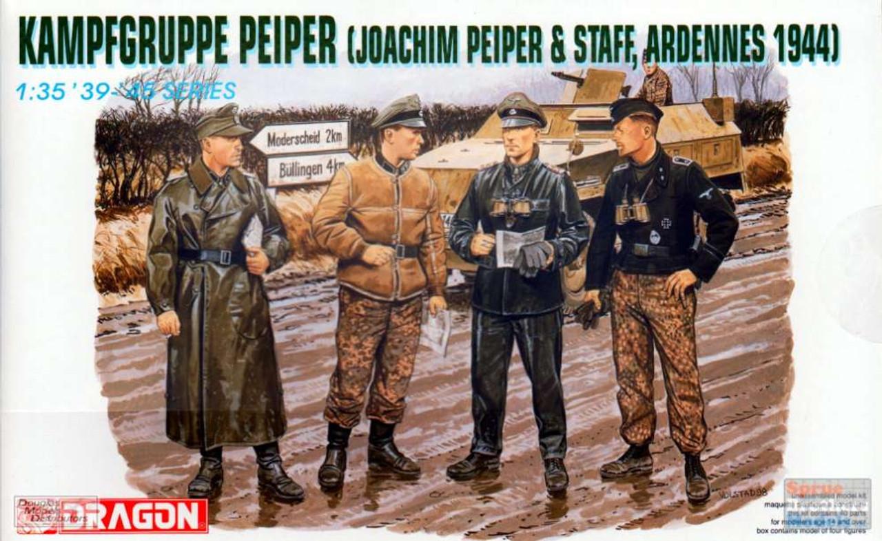 DML6088 1:35 Dragon Kampfgruppe Peiper & Staff Ardennes 1944 Figure Set
