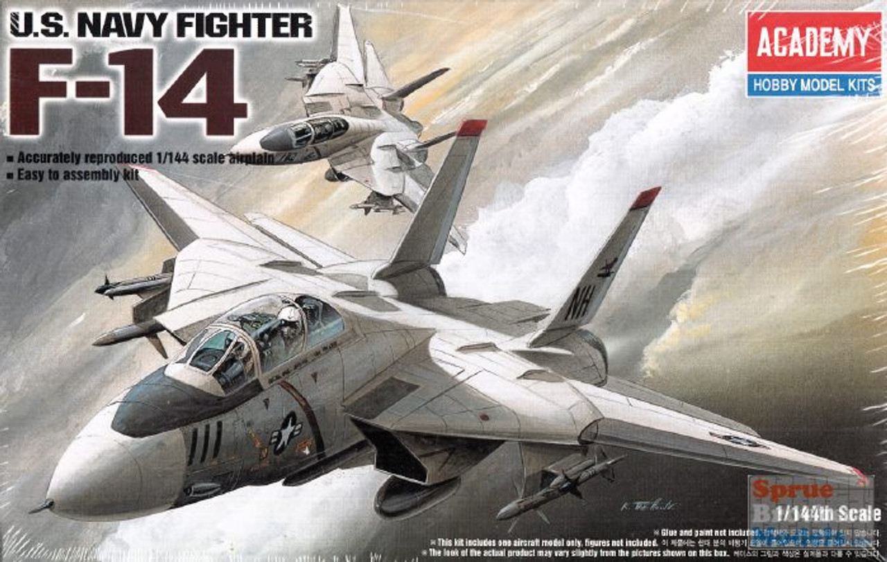 ACA12608 1:144 Academy F-14A Tomcat