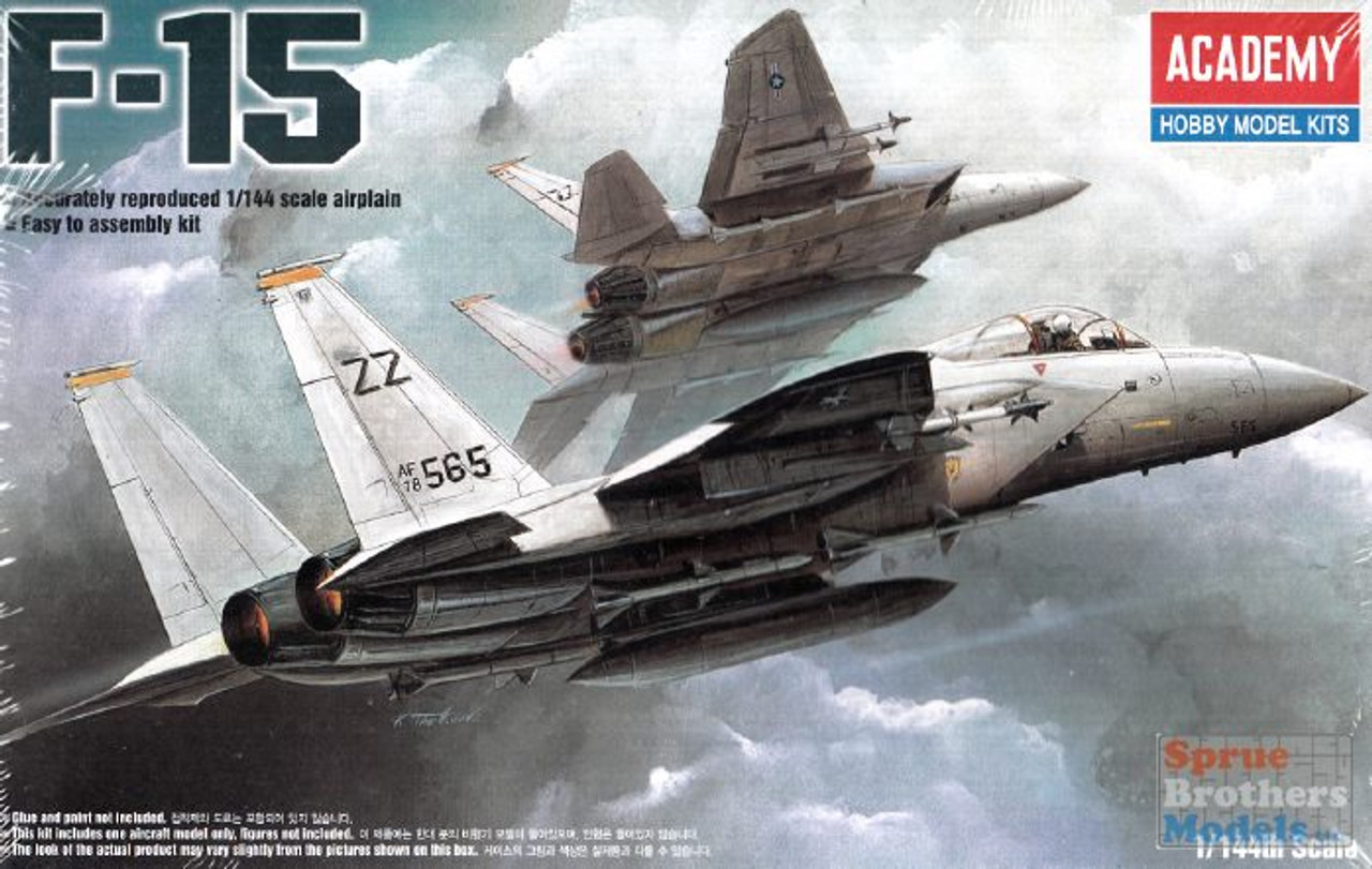 ACA12609 1:144 Academy F-15 Eagle