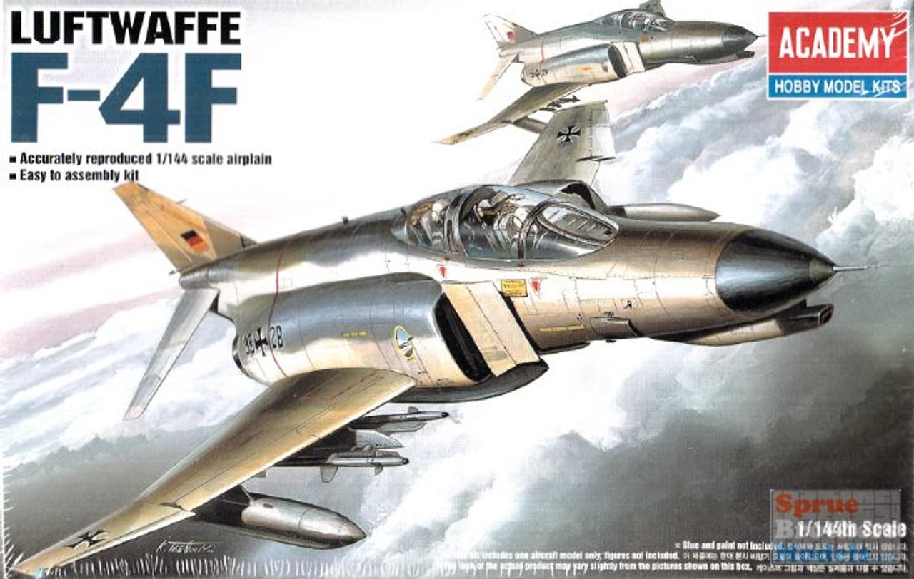 ACA12611 1:144 Academy F-4F Phantom II Luftwaffe