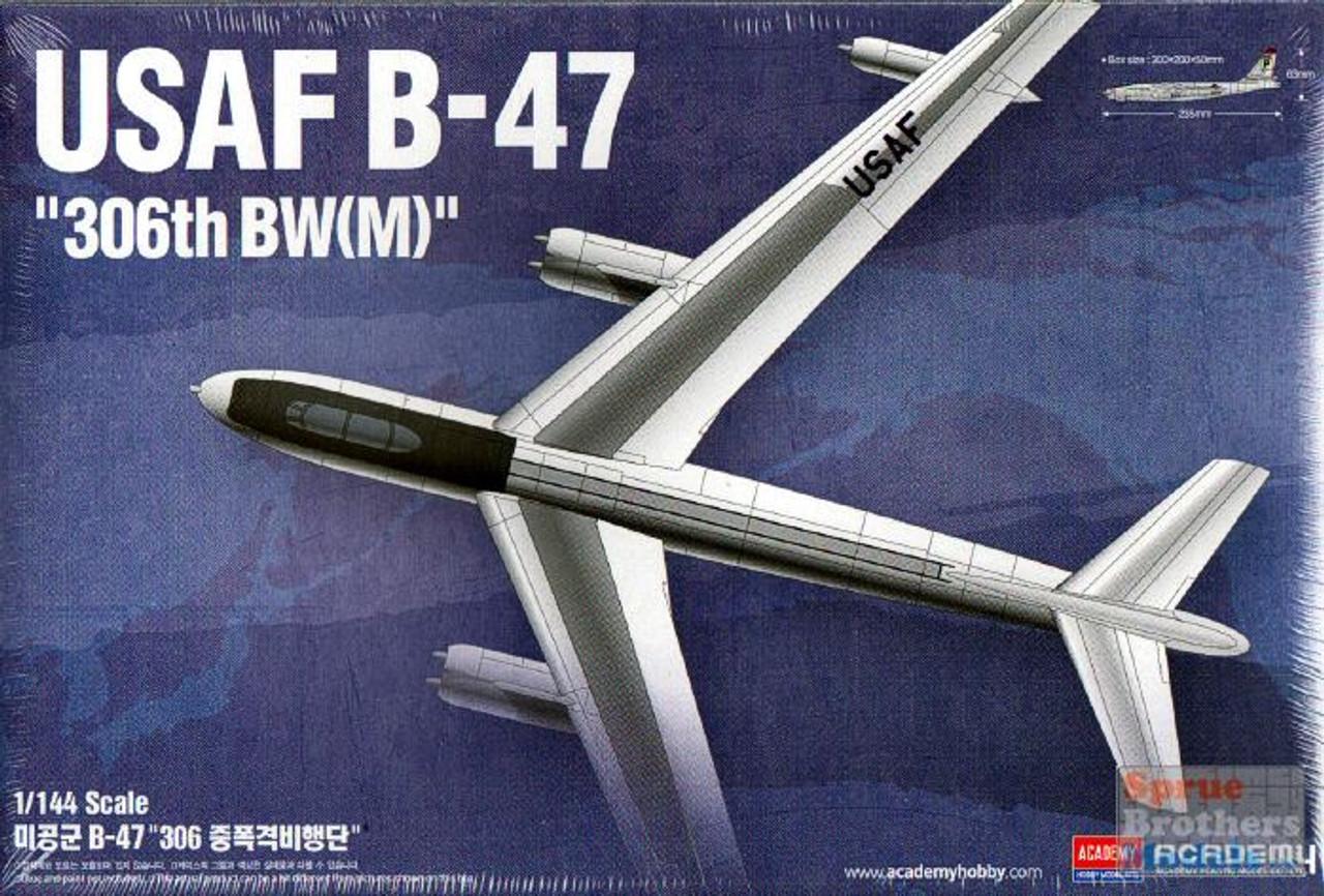 "ACA12618 1:144 Academy USAF B-47 Stratojet ""306th BW(M)"""