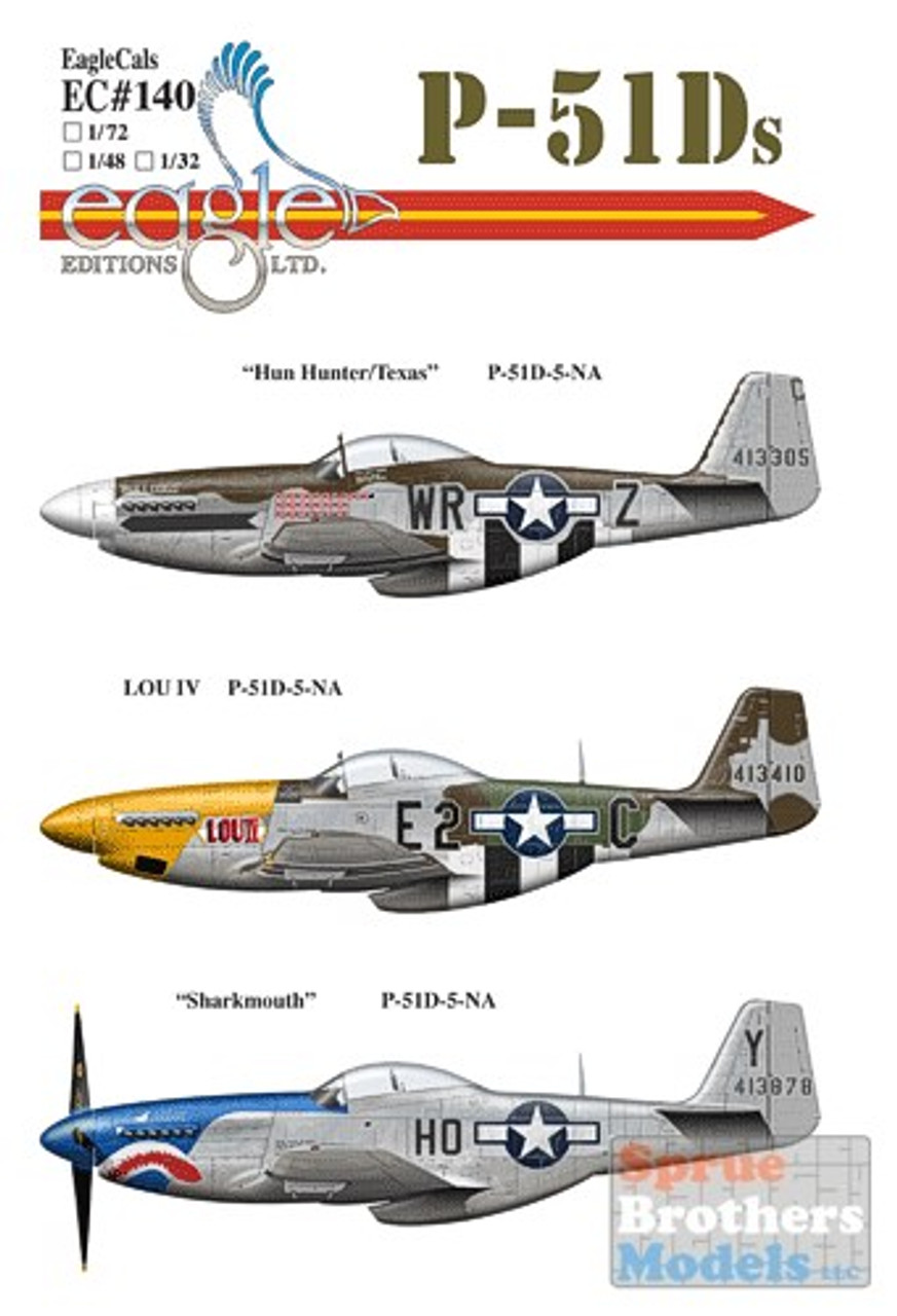 ECL48140 1:48 Eagle Editions P-51D Mustang Pt 2 #48140
