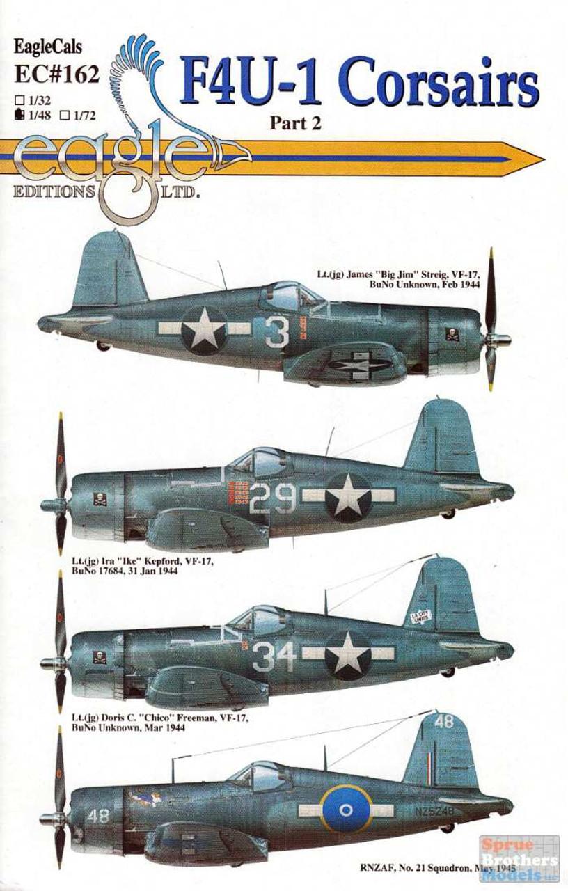 ECL48162 1:48 Eagle Editions F4U-1 Corsair Part 2