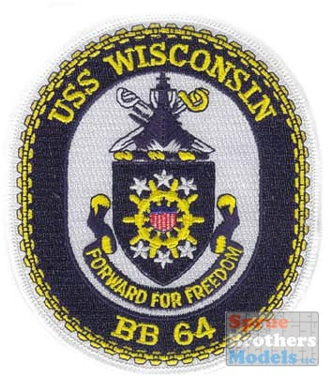 ECR07534 Patch - USS Wisconsin BB-64