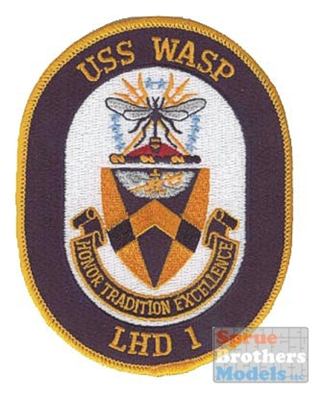 ECR70528 Patch - USS Wasp LHD-1