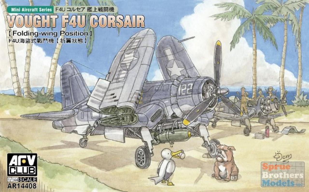 AFV14408 1:144 AFV Club Vought F4U Corsair Folded Wing