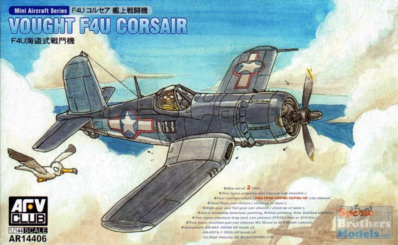 AFV14406 1:144 AFV Club Vought F4U Corsair
