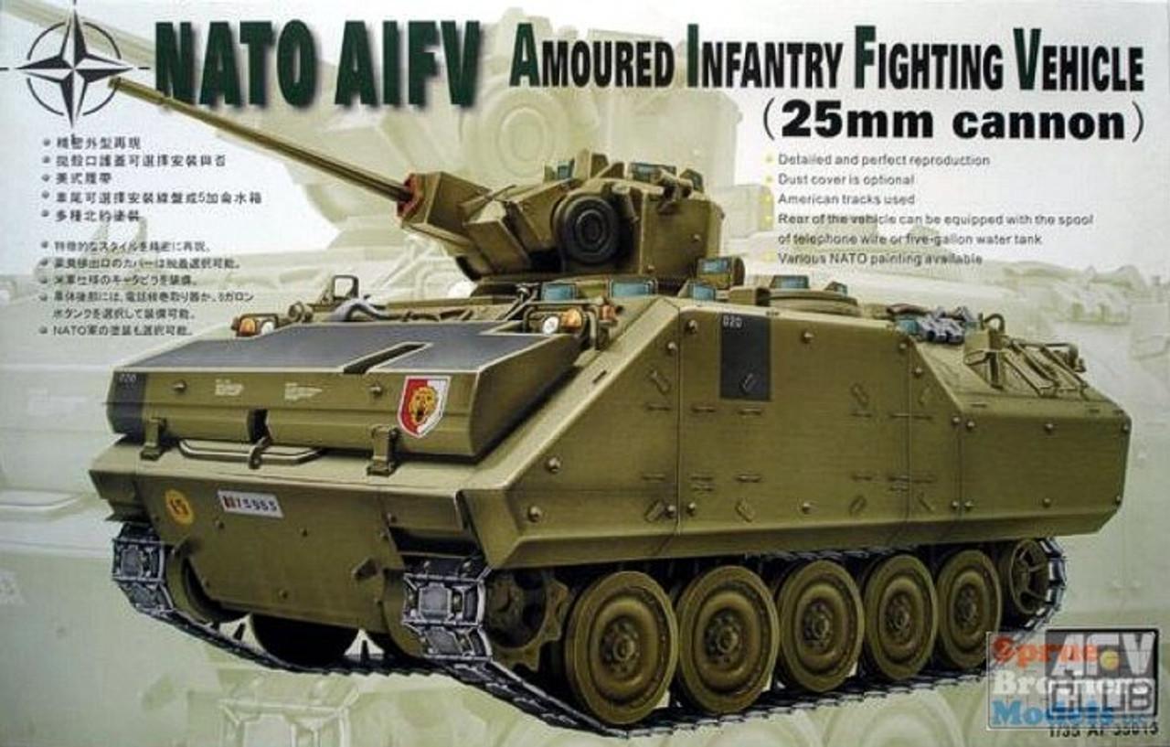 AFV35016 1:35 AFV Club NATO YPR-765 AIFV 25mm
