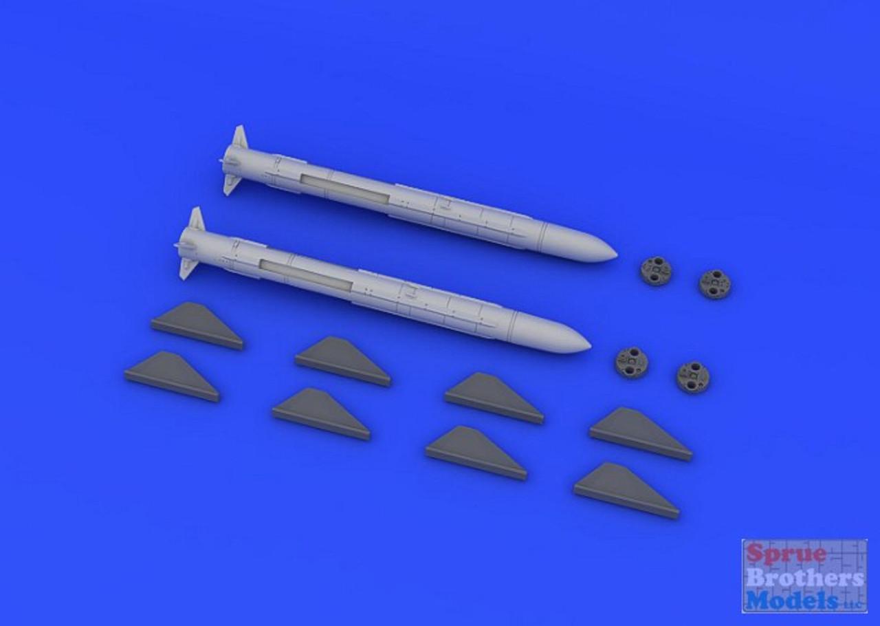 EDU648194 1:48 Eduard Brassin AM-39 Exocet Missile Set