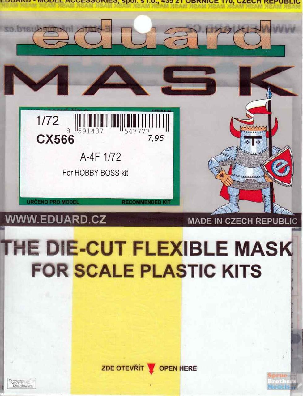 EDUCX566 1:72 Eduard Mask - A-4F Skyhawk (HBS kit)