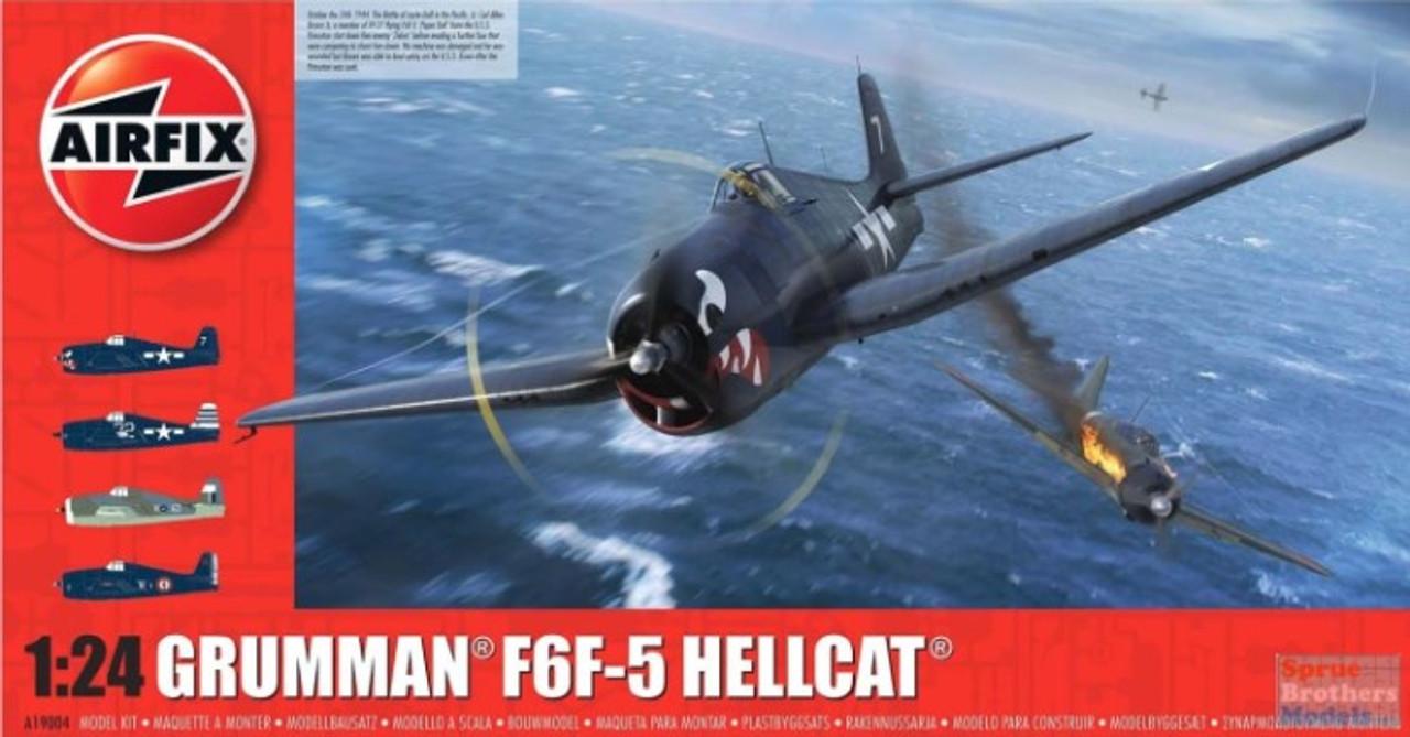 AFX19004 1:24 Airfix Grumman F6F-5 Hellcat