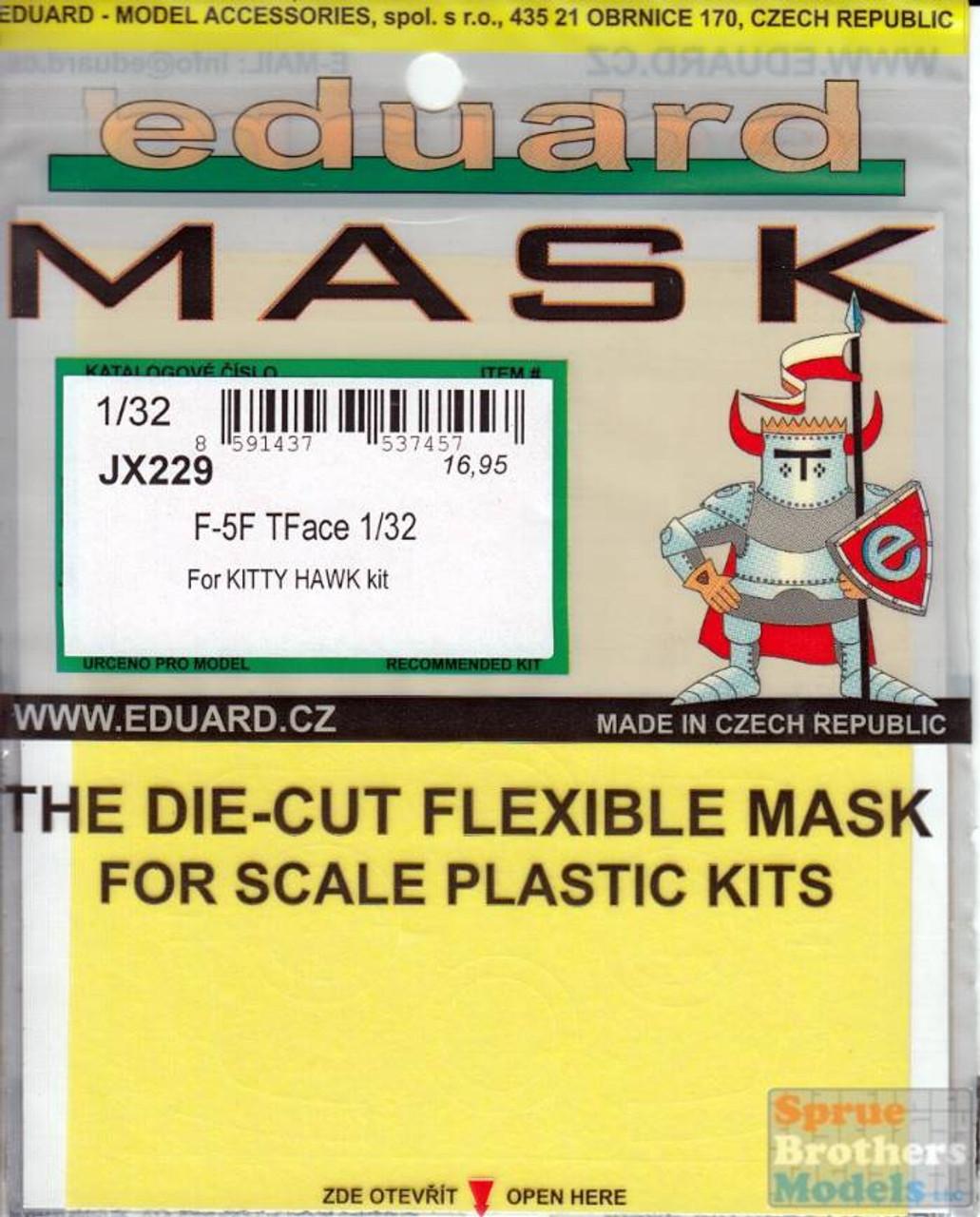 EDUJX229 1:32 Eduard Mask - F-5F Tiger II TFace (KTH kit)